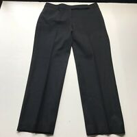 Talbots Signature Straight Black Wool Dress Pants Size 12P  a465