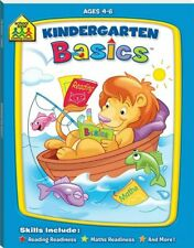 School Zone Kindergarten Basics School readiness activity book for ages 4-6