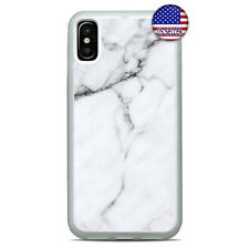 White Marbel Granit Stone Phone case cover For iPhone 11 Pro Max Xs XR 8 Plus 7