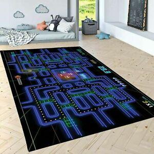 Pacman 101  Area Rug,Non Slip Floor Carpe,Teen's Carpet 3x5ft