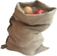 More details for nutley's hessian jute potato sacks 30cm x 45cm (pack of 5)