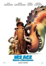ICE AGE 3 DAWN OF THE DINOSAURS MOVIE POSTER ORIGINAL SS MINI SHEET 13x20
