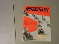 NOVEMBER 1965 MOTORCYCLIST MAGAZINE,JACK PINE,MARLBORO,BONNEVILLE,I.S.D.T.,YAMAH
