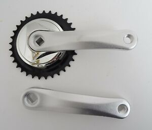 152MM PROWHEEL BICYCLE BIKE CRANKS CHAINSET 33T SQUARE TAPER NEW         CRCP002