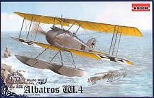 Albatros Biplano hidroavión alemán W.4 Guerra Mundial 1 1/72 Roden