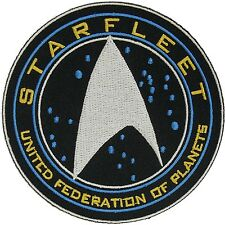 "Star Trek Beyond Starfleet United Federation of Planets Embroidery 4"" Patch"