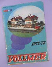 Volmer HO & N Gauge Model Train Catalogue 1972/3