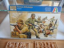 Modelkit Italeri German Afrikakorps WWII on 1:72 in Box