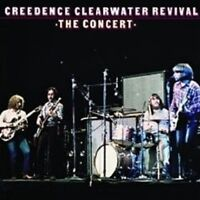 """CREEDENCE CLEARWATER REVIVAL """"THE CONCERT (40TH..)"""" CD"""
