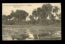Africa France Cols Afrique Occidentale Senegal DAKAR Oasis de Hann PPC 1929