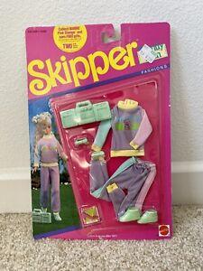 1990 Barbie Skipper Trendy Teen Fashions #774  In Original Packaging