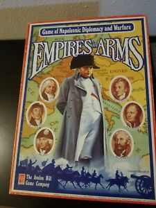 Empires in Arms, original 1985 version. Punched