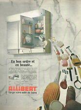 N- Publicité Advertising 1970 Armoire de Toilette Allibert