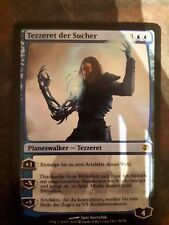 Mtg tezzeret the seeker foil (german)  x 1 great condition