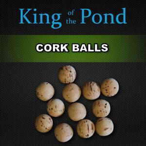 Cork balls 12mm x15 pcs - carp fishing, carp rigs