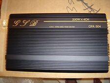 GLB CPA-504 1000W Class-A 5/4/3/2-Channel Car Power Amplifier  - NEW