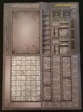 INSTANT DUNGEON TILES City/Castle Map Poster Paizo Dragon Magazine 280 D&D NEW!