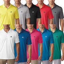 Camisa Polo para hombre Rendimiento De Golf Adidas Nuevo 2016