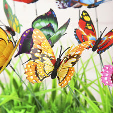Artificial Butterfly Simulation Garden Decorations Yard Lawn Faux Decor Plant