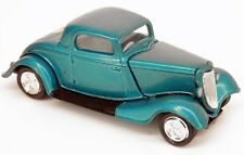 Racing Champions 1934 Ford 3-Window Coupe '34 Hot Rod Teal 1/64 Scale