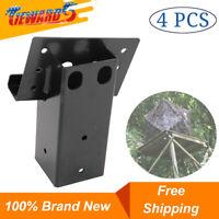 4 Pack Brackets Elevator For Deer Stand Hunting Blind Tower Platform