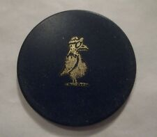 BIRD AIR FORCE AVIATOR POKER CHIP OBSOLETE CLAY RARE AIR CORPS FLYING TURKEY