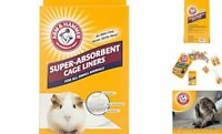 Super Absorbent Cage Liners for Pet Guinea Pigs & Small Animals Pets 7 Count New