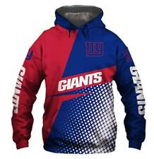 Giants check printed Pullover Pocket Casual Man Hoodie long sleeve S-5XL D-05