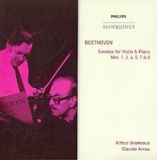 Beethoven Grumiaux Arrau Beethoven VLN Sonatas NOS 1 2 4 5 7 a
