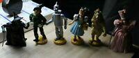 Set of 6, 1939 Loew's Ren. 1966 MGM, 1987 Turner Presents Wizard of Oz Figurines