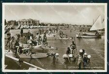 Rimini Cattolica Ridente Spiaggia Foto cartolina RB6651