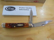 Coltello da collezione Case Cutlery Peanut Chestnut Bone CA7006 knife