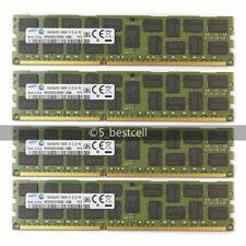 New Samsung 64GB 4X 16GB PC3-14900R 2RX4 DDR3-1866MHZ REGISTERED ECC MEMORY Ram