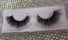 CARMEL MINK eye Lashes Siberian Eyelashes 3D Makeup Fur New with case US SELLER