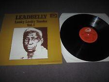 Leadbelly - Vol.1 Looky Looky Yonder LP 1976 N/Mint Italian Albatros