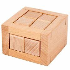 Unlock Breakout Educational Toy Wood IQ Logic Puzzles Adults Kids Brain Teaser