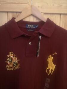 Polo Ralph Lauren Big pony long sleeve  Polo shirt cp93 stadium p wing
