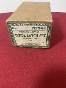 Antique | Vintage | Barrows |  Interior Door Latch Set | Glass Knob | NOS