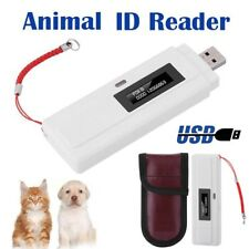 Animal ID Reader 134.2Khz ISO FDX-B Chip Dog Microchip Portable Pet RFID Scanner
