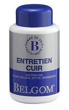 Entretien cuir - Belgom Entretien Cuir 250 ml Siege canape manteau Bottes moto