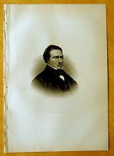 3 Antique Prints BENJAMIN, ELIZABETH & EMILY ROGERS Lowell, MA 1890 Engraving