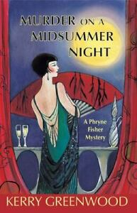 Murder on a Midsummer Night Paperback Kerry Greenwood