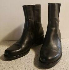 $425 La Canadienne Perla Black Leather Waterproof Boots Size 7M EUC