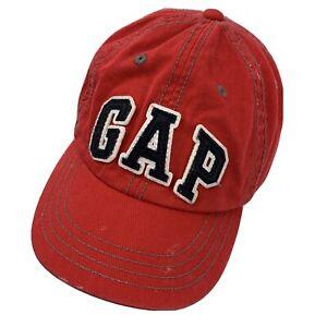Gap Brand Kids Red Ball Cap Hat Adjustable Baseball