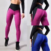Women's Slim Casual Workout Leggings Fitness Sports Running Yoga Athletic Pants