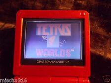 Tetris Worlds  (Nintendo Game Boy Advance, 2001) ~ Cart Only ~ WORKS ~