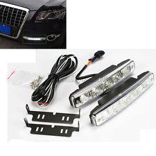 2x 15W Super White 5LED Car Headlight Daytime Running Light DRL Driving Fog Lamp