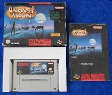 Harvest Moon, OVP Anleitung, SNES, Super Nintendo Spiel