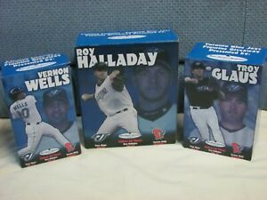 Lansing Lugnuts Statue Vernon Wells Troy Glaus Roy Halladay Figure Minor League