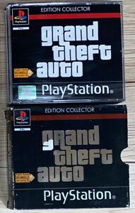 - Grand Theft Auto Édition Collector - Tbe PS1 PAL Fr Playstation Ps One Rétro
